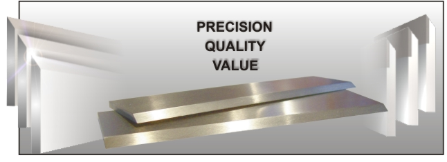 Thousands Of These Quality Planer Knives Have Been Sold Throughout The Country Template Services Inc Has Planer Knives For Nearly Any Size Jointer Or